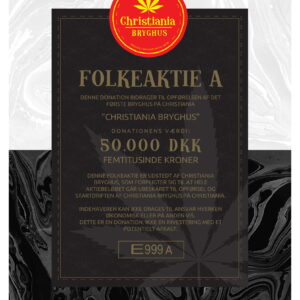 Christiania Bryghus Folkeaktie A
